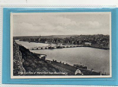 """""postcard Birds Eye View Of Waterford From Mountmisery,ireland"""""