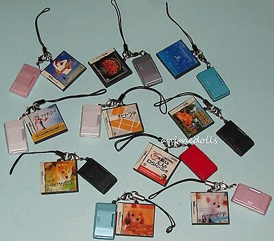 Yujin Nintendo DS Mascot 2 Software Collection Miniature Full Set of 10 Re-ment