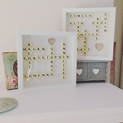 Scrabble Personalised Picture Choose Your Words/names