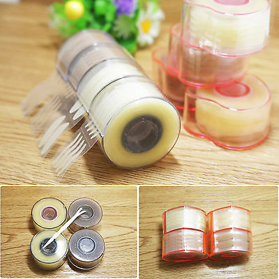600X White Thin Invisible Double Eyelid Clear Sticker Adhesive Tape Makeup