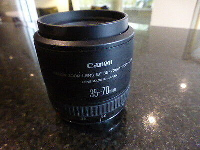 Canon EF 35-70 mm 1:3.5-4.5 Zoom Lens