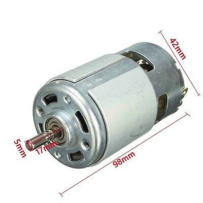 12V DC Motor for Traxxas R/C and Power Wheels 150W 13000 RPM Powerful High Speed