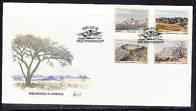 Namibia 1991 Mountains First Day Cover - Unaddressed