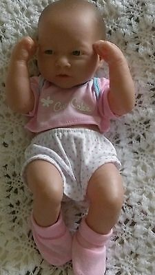 """Baby girls dolls clothes set t-shirt pants booties for cup cake berenguer 14"""""""