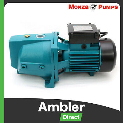 Monza 1100w Cast Iron High Pressure Jet Water Pump Industrial Grade