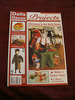 DOLLS HOUSE PROJECTS MAGAZINE VOLUME 1 No 4 FREE P&P IN UK