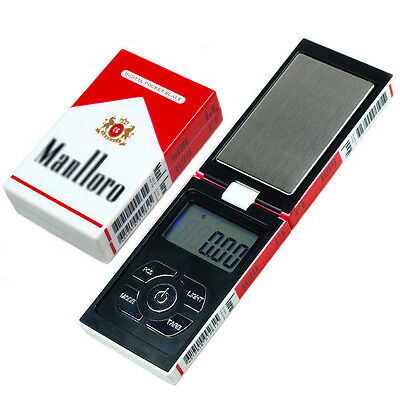 Electronic Digital Pocket Weighing Scale Cigarette Box LCD Display Jewelry Scale