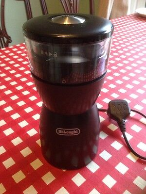 Delonghi Electric Coffee Bean Grinder