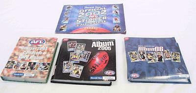 Vintage AFL Collectors Cards And Albums From 2002, 2004, 2005, 2006 #10819