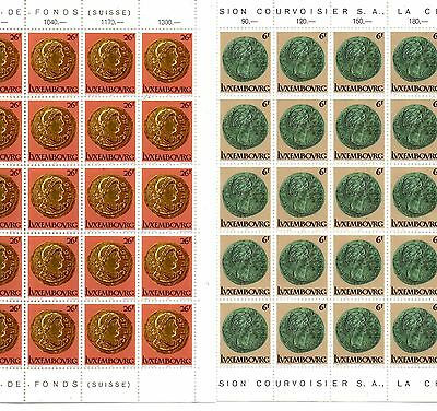 4 Lots Of Stamps From Luxembourg 1978.
