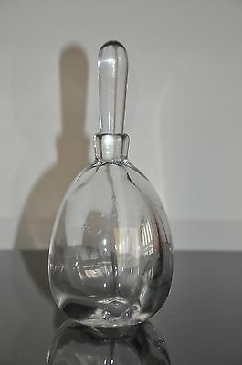 Orrefors Glass Decanter  Signed . Lw 155 / 15