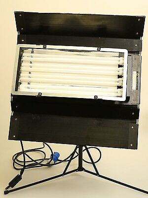 Kino Flo Diva Lite 400 with Bulbs, Stand, Diffuser and Spare Bulbs