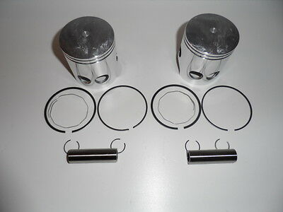 Rd 400  Yamaha  Kit Pistons Complet Cote 0,50