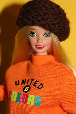 Superstar Barbie United Colors of Benetton & Fashion Fever Display-Box 90er