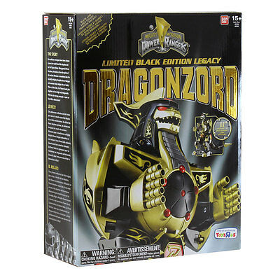 Mighty Morphin Power Rangers - Legacy Dragonzord Limited Black & Gold Edition