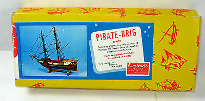 CONSTRUCTO Maritime Series : R-409 Pirate Brig Schiff Holz Modellbausatz (K29)