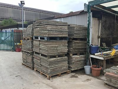 Large Quantity Of used 3 X 2 Concrete Paving Flags