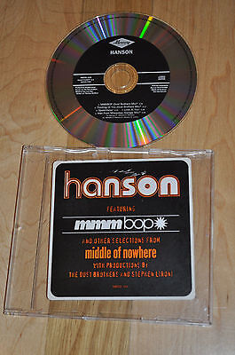 RARE Hanson Middle of Nowhere 5 Track US Promo CD!