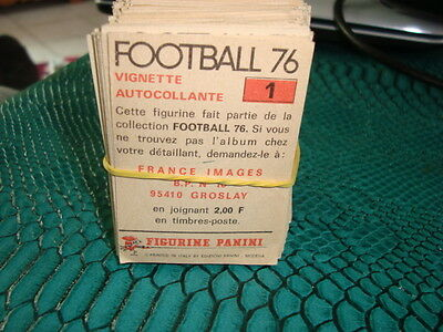 lot panini stickers foot 76  1976 185  images