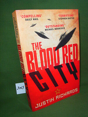 Justin Richards The Blood Red City Paperback Edition New