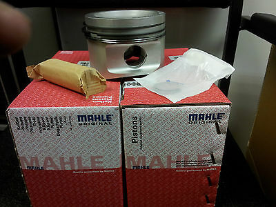 Cosworth Yb Mahle Pistons  4X4  0.5Mm Oversize Inc Rings And Pins