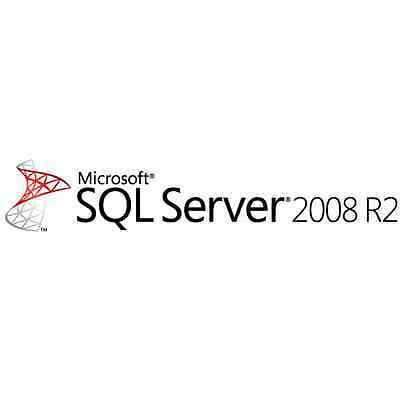 NEW Microsoft SQL 2008 R2 Server Standard 10 CAL 32/64-Bit SEALED