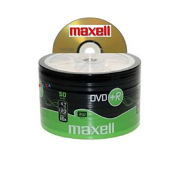 50 Maxell DVD+R Vierges
