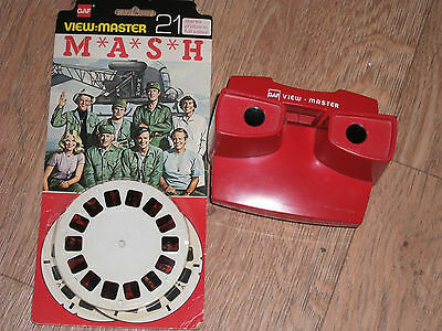 Vintage Gaf View-Master & M*a*s*h 21 Stereo Photo's In Full Colour (Sealed) 1978