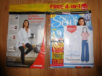 Love Sewing Magazine 2016 Issue 31 With Free Gifts RRP £6.99