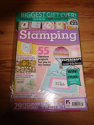 Creative Stamping 2016 Issue 33 With Free Gifts Worth £25 RRP £7.99