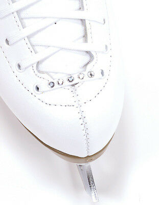 Jerry's Swarovski crystal white figure skate Laces - 4 lengths - FREE P&P