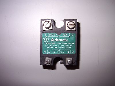 Electromatic Solid State Relay Type RS 130 240 10 0