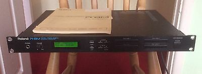 Roland R8M Percussion Sound Module With Sound Card Library