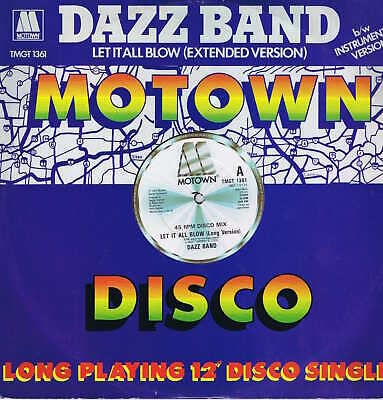 Dazz Band – Let It All Blow – TMGLT 1361 – 12-inch Vinyl Record