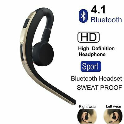 Handsfree Bluetooth 4.1 Single Headset For Smartphones iPhone 7 6 Samsung S7