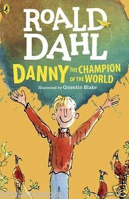 Roald Dahl Story Book: DANNY THE CHAMPION OF THE WORLD - 2016 Artwork - NEW