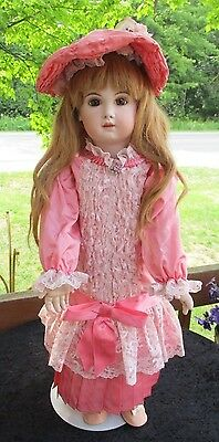 Vintage 1987 Lynda and Alan Marx French tete Jumeau Doll-Large 28""