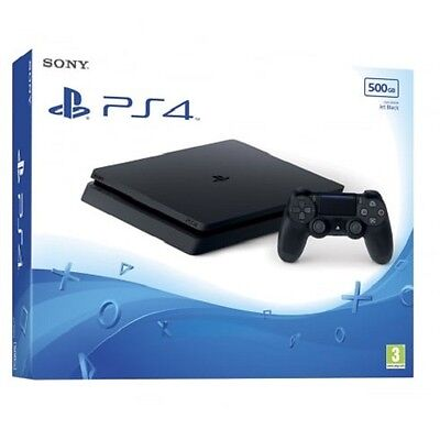 Videoconsola Sony Ps4 500Gb Negra Slim