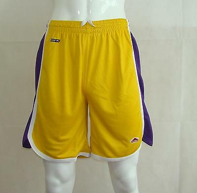Basketball Shorts / Gold Purple  FREE P & P - priced to clear
