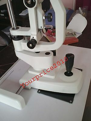 Binocular Haag Streit Type Slit Lamp 2 Step With Table and Accessories Optometry