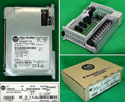 New Allen Bradley 4 Channel Isolated Current Voltage Input Module 1769-IF4I A