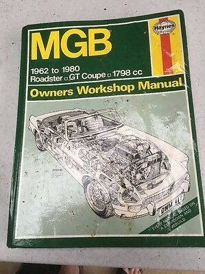 MGB Owners Manual Haynes