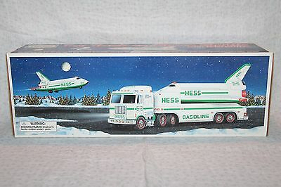 1999 Hess Toy Truck and Space Shuttle with Satellite Never Opened