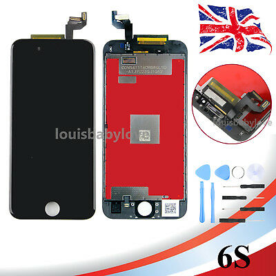 "Replacement For iPhone 6S 4.7"" LCD Display Touch Screen Digitizer Assembly Black"