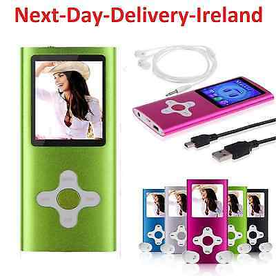 "32GB Mp3 Mp4 Sports Slim Player With 1.8"" LCD Screen FM Radio & Video & Games"