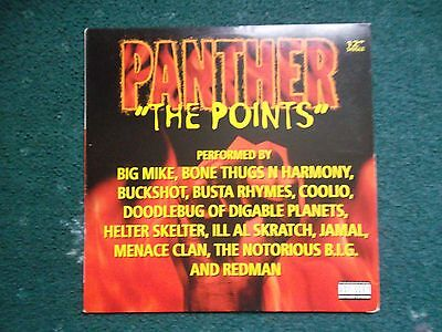 Panther The Points 12 Inch Ft Notorious Big Redman Etc