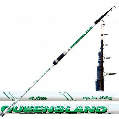Canna da Pesca Beach Ledgering Queensland 100 grammi surfcasting fondo PLO