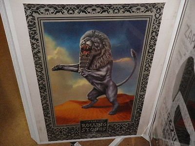 THE ROLLING STONES, Bridges to Babylon, ORG. PROMOTION POSTER, TOP CONDITION !!