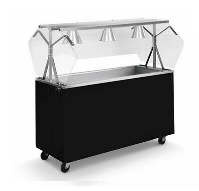 "Vollrath 39738 Affordable Portable™ 60"" (4) Well Cold Cafeteria Station"