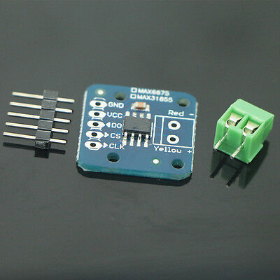 MAX31855 K Type Thermocouple Breakout Board Temperature -200℃ to+1350℃ Out L